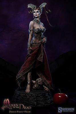Einfach und sicher online bestellen: The Dead Premium Format Figur 1/4 Queen of Dead in Österreich kaufen.