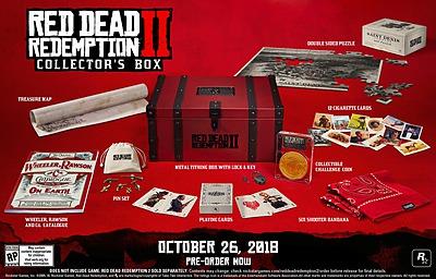 Einfach und sicher online bestellen: Red Dead Redemption 2 Collectors Box (ohne Spiel) in Österreich kaufen.