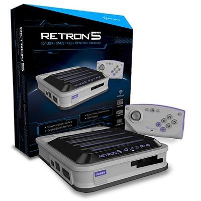 Einfach und sicher online bestellen: RetroN 5 Konsole (Gray) in Österreich kaufen.