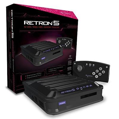 Einfach und sicher online bestellen: RetroN 5 Konsole (Black/Import) in Österreich kaufen.