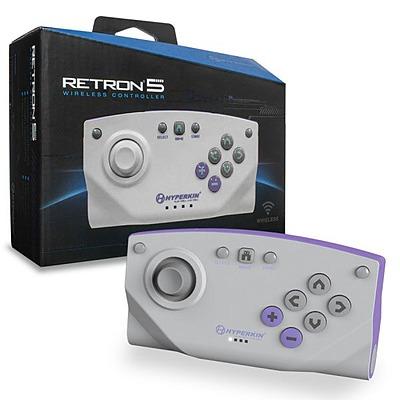 Einfach und sicher online bestellen: RetroN 5 Bluetooth Wireless Controller Gray (Imp.) in Österreich kaufen.