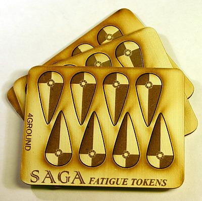 Einfach und sicher online bestellen: SAGA Fatigue Markers Kite Shields in Österreich kaufen.