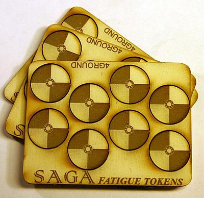 Einfach und sicher online bestellen: SAGA Fatigue Markers Round Shields in Österreich kaufen.