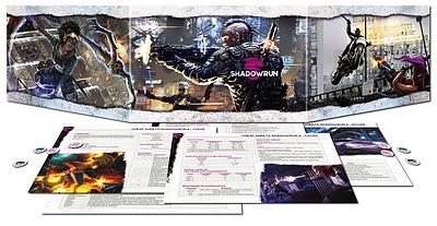 Einfach und sicher online bestellen: Shadowrun Sichtschirmpack 6. Edition in Österreich kaufen.