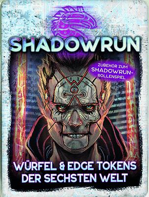 Einfach und sicher online bestellen: Shadowrun: Würfel & Edge Tokens der sechsten Welt in Österreich kaufen.