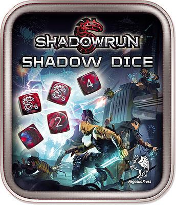 Einfach und sicher online bestellen: Shadowrun Würfelset rot in Österreich kaufen.