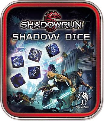 Einfach und sicher online bestellen: Shadowrun Würfelset schwarz/blau in Österreich kaufen.