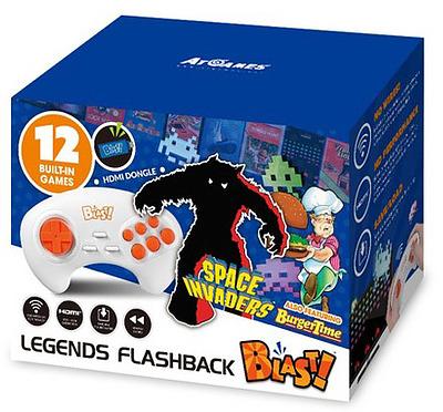 Einfach und sicher online bestellen: Space Invaders Flashback Blast! in Österreich kaufen.