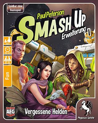 Einfach und sicher online bestellen: Smash Up: Vergessene Helden in Österreich kaufen.