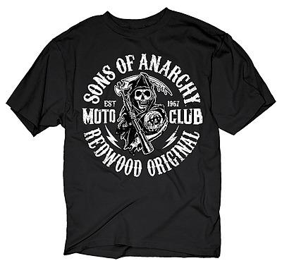 Einfach und sicher online bestellen: Sons of Anarchy T-Shirt Redwood Original L in Österreich kaufen.