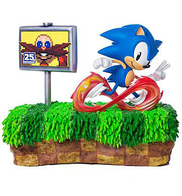 Einfach und sicher online bestellen: Sonic the Hedgehog Diorama 25th Anniversary in Österreich kaufen.