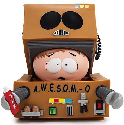 Einfach und sicher online bestellen: South Park Vinyl Figur A.W.E.S.O.M.-O in Österreich kaufen.