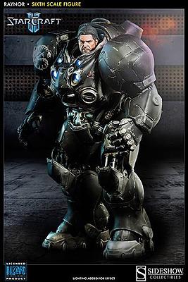 Einfach und sicher online bestellen: StarCraft II Actionfigur 1/6 Raynor 40 cm in Österreich kaufen.