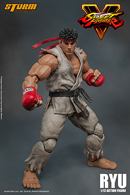 Einfach und sicher online bestellen: Street Fighter 5 Actionfigur Ryu 1/12 in Österreich kaufen.