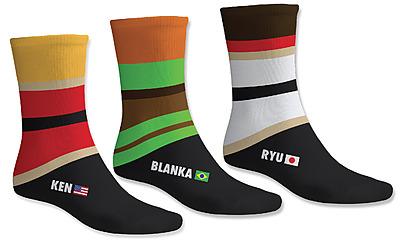 Einfach und sicher online bestellen: Street Fighter Socken in Österreich kaufen.