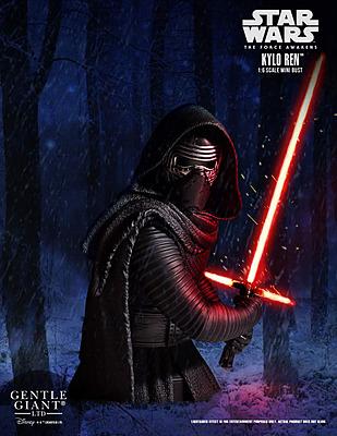 Einfach und sicher online bestellen: Star Wars Episode 7 Büste Kylo Ren 1/6 in Österreich kaufen.
