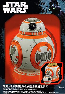 Einfach und sicher online bestellen: Star Wars Episode VII Plätzchendose BB-8 in Österreich kaufen.