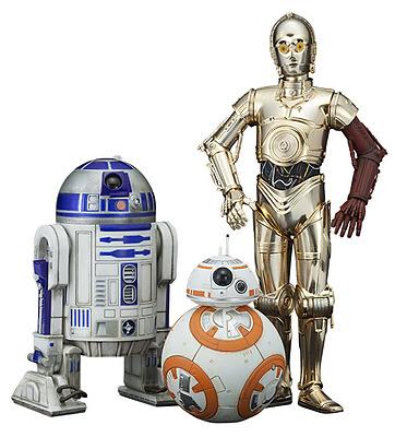 Einfach und sicher online bestellen: Star Wars Episode 7 Statuen Model Kit 3-Pack 1/10 in Österreich kaufen.