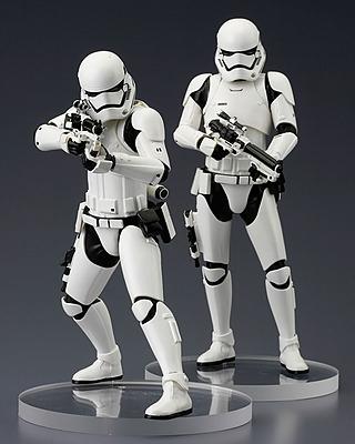 Einfach und sicher online bestellen: Star Wars Episode 7 Statuendoppelpack Stormtrooper in Österreich kaufen.