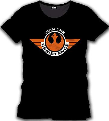 Einfach und sicher online bestellen: Star Wars Episode 7 T-Shirt Join the Resistance L in Österreich kaufen.