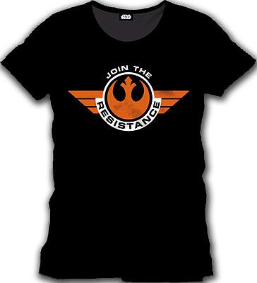 Einfach und sicher online bestellen: Star Wars Episode 7 T-Shirt Join the Resistance M in Österreich kaufen.