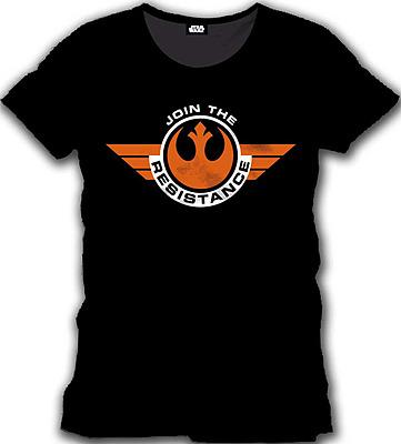 Einfach und sicher online bestellen: Star Wars Episode 7 T-Shirt Join the Resistance XL in Österreich kaufen.