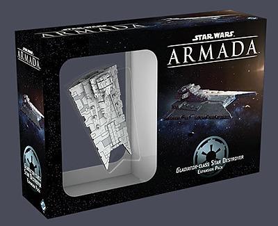 Einfach und sicher online bestellen: Star Wars Armada: Sternenzerstörer Gladiatorklasse in Österreich kaufen.