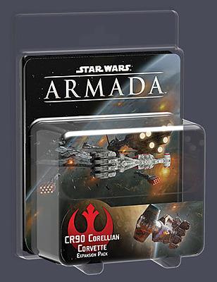 Einfach und sicher online bestellen: Star Wars Armada: CR90 Corellianische Korvette in Österreich kaufen.