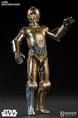 Einfach und sicher online bestellen: Star Wars Actionfigur 1/6 C-3PO 30 cm in Österreich kaufen.