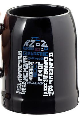 Einfach und sicher online bestellen: Star Wars Bierkrug Basic R2-D2 in Österreich kaufen.