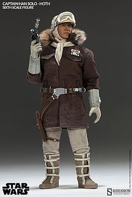 Einfach und sicher online bestellen: Star Wars Actionfigur 1/6 Captain Han Solo Hoth in Österreich kaufen.
