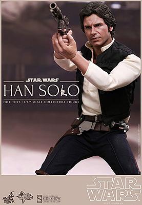 Einfach und sicher online bestellen: Star Wars Actionfigur Han Solo 1/6 in Österreich kaufen.