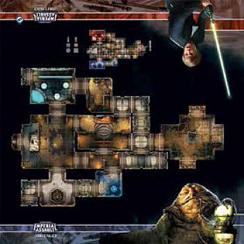 Einfach und sicher online bestellen: Imperial Assault Jabba's Palace Skirmish Map in Österreich kaufen.