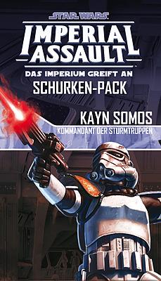Einfach und sicher online bestellen: Star Wars Imperial Assault: Kayn Somos in Österreich kaufen.