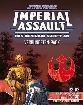 Einfach und sicher online bestellen: Star Wars Imperial Assault: R2-D2 & C-3PO in Österreich kaufen.