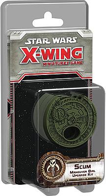 Einfach und sicher online bestellen: Star Wars X-Wing - Abschaum Manöverräder Upgrade in Österreich kaufen.
