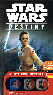 Einfach und sicher online bestellen: Star Wars: Destiny Rey Starterset in Österreich kaufen.