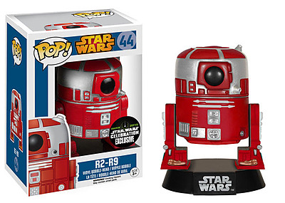 Einfach und sicher online bestellen: Star Wars POP! Vynil Wakelkopf-Figur R2-R9 10cm in Österreich kaufen.