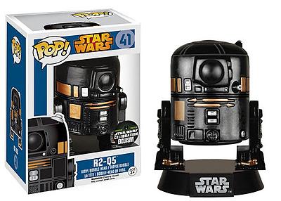 Einfach und sicher online bestellen: Star Wars POP! Vynil Wackelkopf-Figur R2-Q5 10cm in Österreich kaufen.