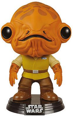 Einfach und sicher online bestellen: Star Wars Episode VII POP! Figur Admiral Ackbar in Österreich kaufen.