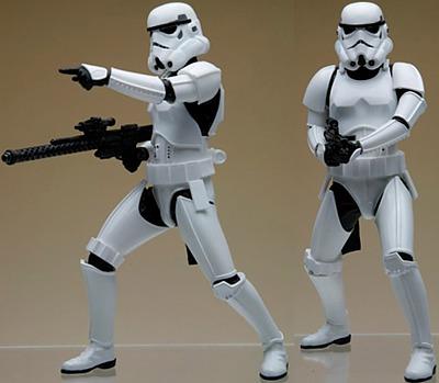 Einfach und sicher online bestellen: Star Wars ARTFX+ Statuen Doppelpack Stormtrooper in Österreich kaufen.