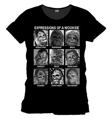 Einfach und sicher online bestellen: Star Wars T-Shirt Emotions of a Wookie Größe S in Österreich kaufen.