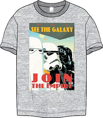 Einfach und sicher online bestellen: Star Wars T-Shirt Join the Empire L in Österreich kaufen.