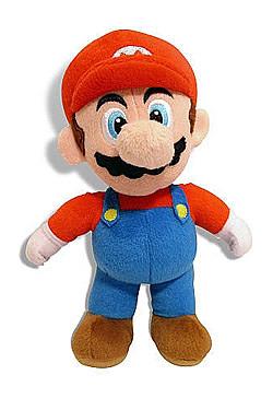 Einfach und sicher online bestellen: Super Mario Bros. Plüschfigur Mario 20 cm in Österreich kaufen.