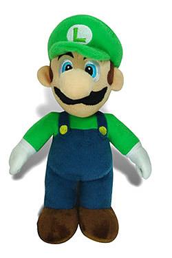 Einfach und sicher online bestellen: Super Mario Bros. Plüschfigur Luigi 30 cm in Österreich kaufen.