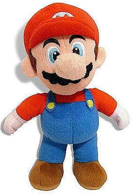 Einfach und sicher online bestellen: Super Mario Bros. Plüschfigur Mario 30 cm in Österreich kaufen.