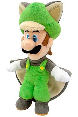 Einfach und sicher online bestellen: Super Mario Bros. Flying Squirrel Luigi 36 cm in Österreich kaufen.