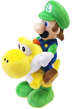 Einfach und sicher online bestellen: Super Mario Bros. Luigi auf Yoshi 22 cm in Österreich kaufen.