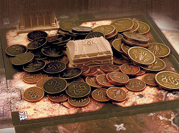 Einfach und sicher online bestellen: Sword & Sorcery - Metal Coins in Österreich kaufen.