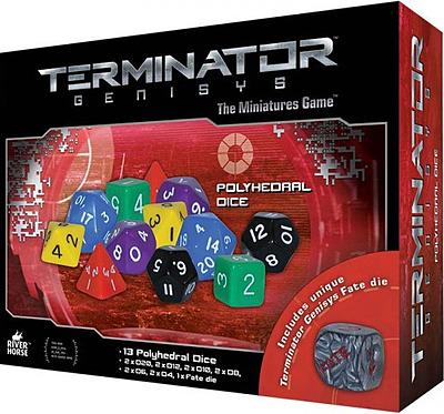 Einfach und sicher online bestellen: Terminator Genisys: Dice Pack in Österreich kaufen.